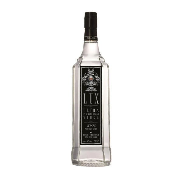 Lux Ultra Black Label Premium Vodka - thedropstore.com
