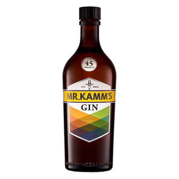 Mr Kamm's London Dry Gin - thedropstore.com