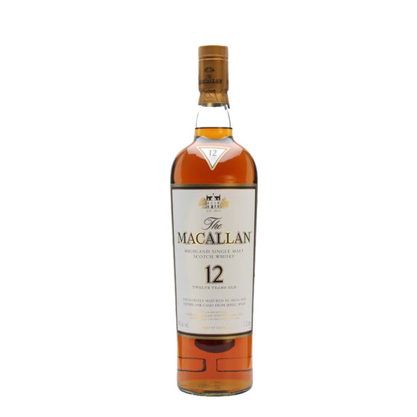 Macallan Sherry Oak 12 Year Old Single Malt Scotch Whisky - thedropstore.com