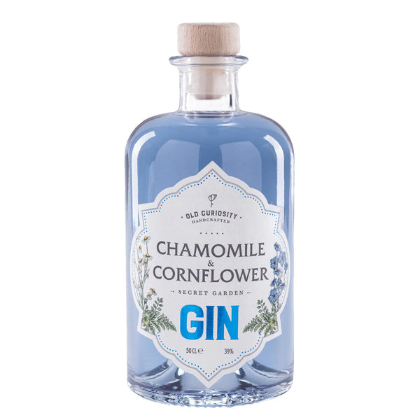 Old Curiousity Chamomile and Cornflower Gin - thedropstore.com