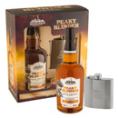 Sadler's Peaky Blinder Irish Whiskey and Hip Flask Gift Set - thedropstore.com