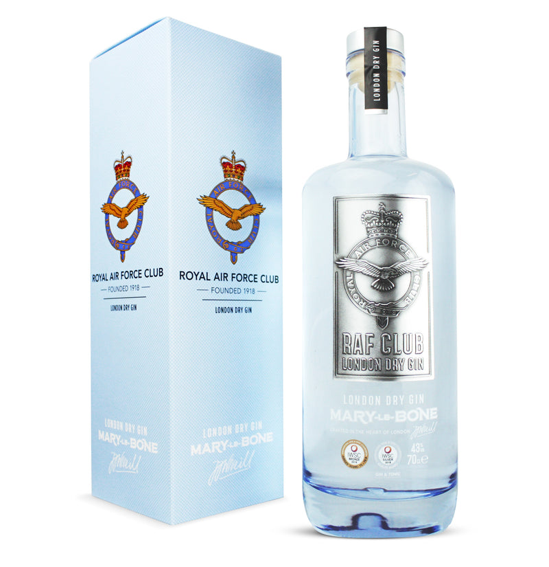 Royal Air Force Club Dry London Gin - thedropstore.com