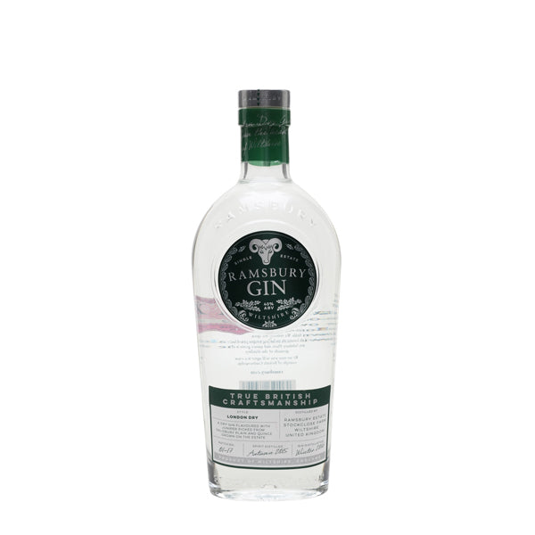 Ramsbury Single Estate Gin - thedropstore.com
