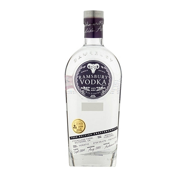 Ramsbury Single Estate Vodka - thedropstore.com