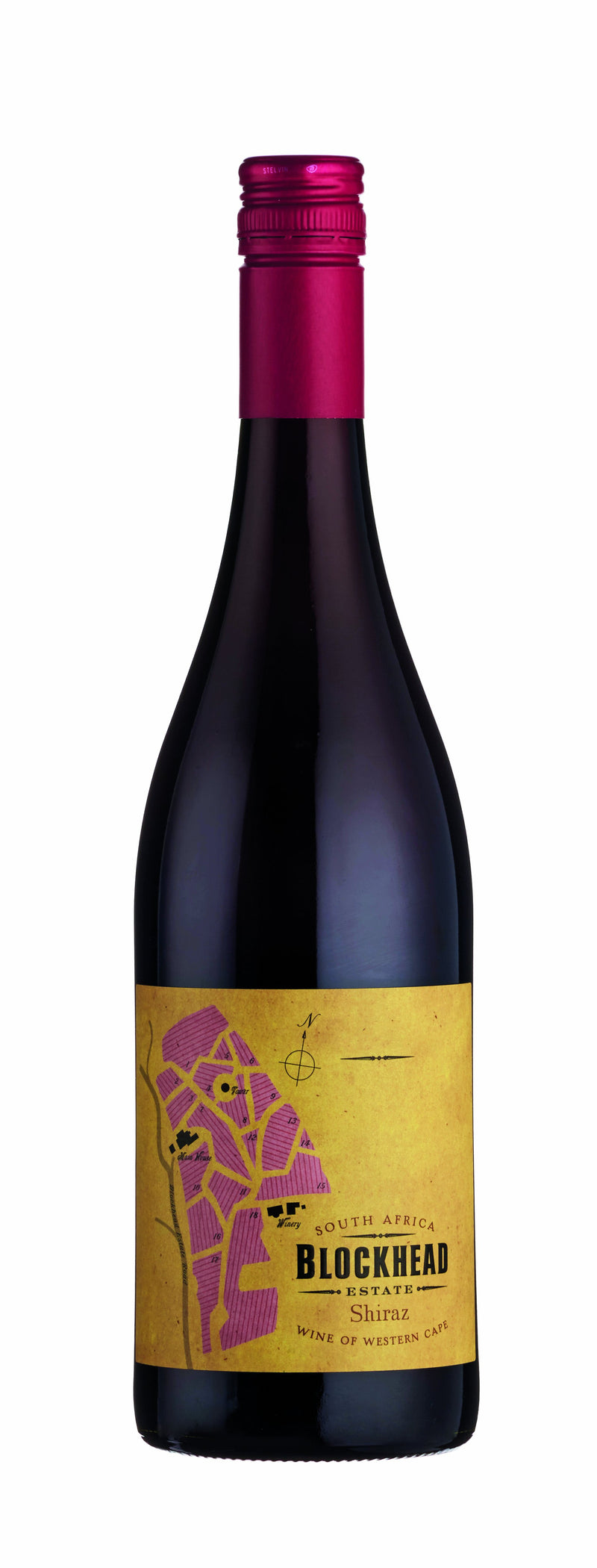 Blockhead Syrah, 2018, Western Cape, South Africa - thedropstore.com