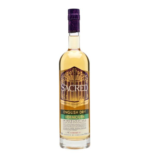 Sacred English Dry White Vermouth - Chalié Richards & Co Ltd T/A The Drop Store