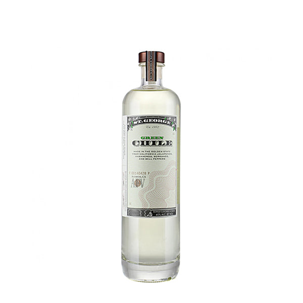 St George Green Chile Vodka - thedropstore.com