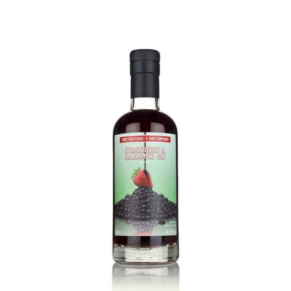 That Boutique-y Gin Company Strawberry & Balsamico Gin - thedropstore.com