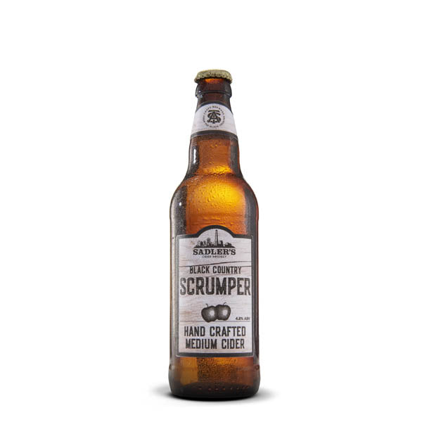 Sadler's Scrumper Original Craft Cider 8 Bottle Case - thedropstore.com