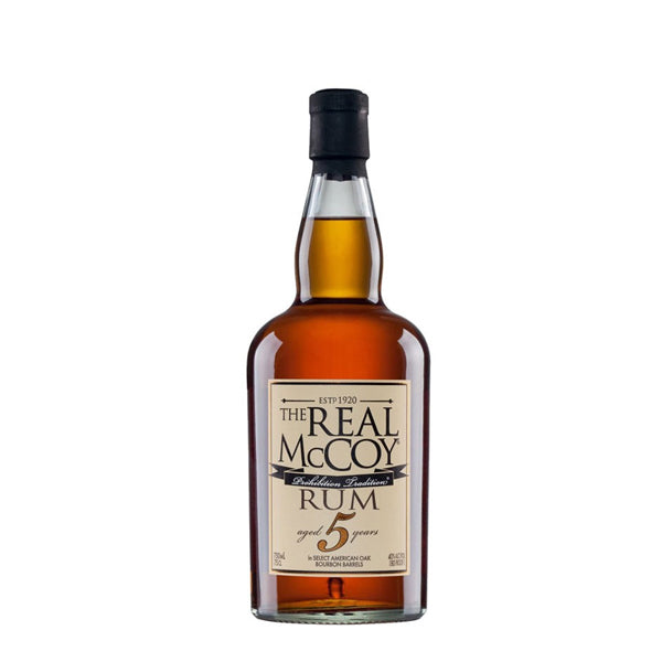 The Real McCoy Dark 5 Year Old Rum - thedropstore.com