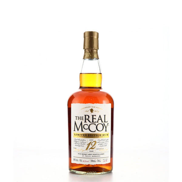 The Real McCoy Maderia Cask 12 Year Old Rum - thedropstore.com