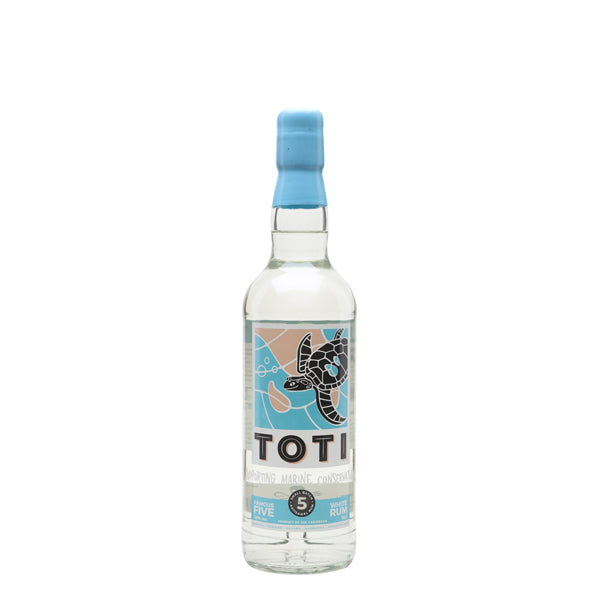Toti Famous 5 White Rum - thedropstore.com