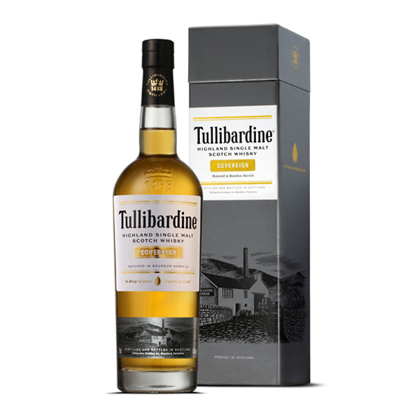 Tullibardine Sovereign Highland Single Malt Scotch Whisky - thedropstore.com