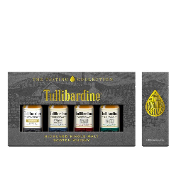 Tullibardine Tasting Collection Gift Set 4 x 5cl - thedropstore.com