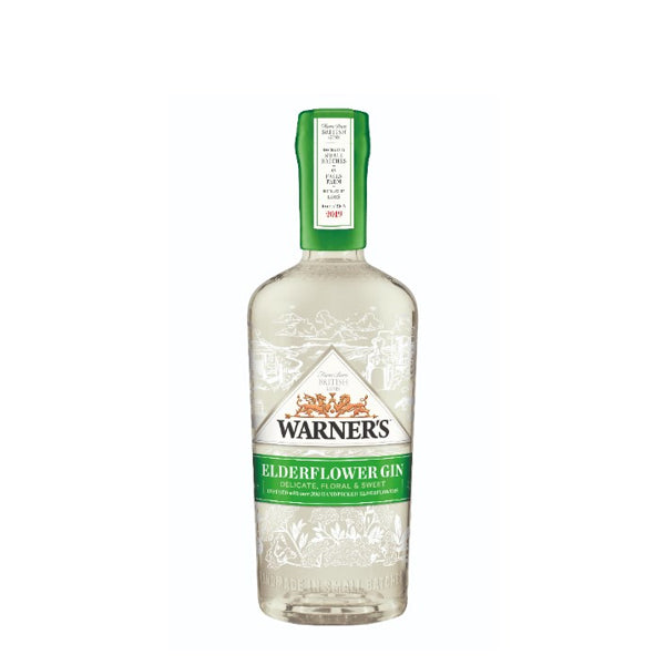 Warners Elderflower Gin - thedropstore.com