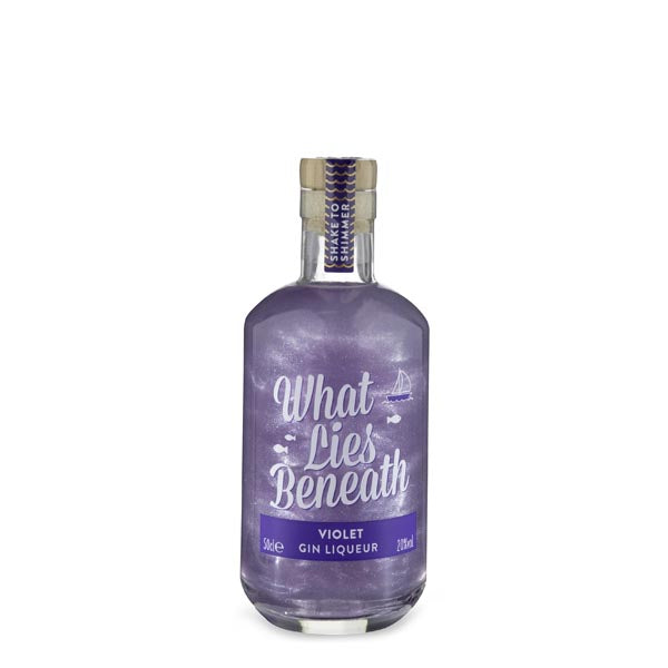 What Lies Beneath Violet Shimmer Gin Liqueur - thedropstore.com
