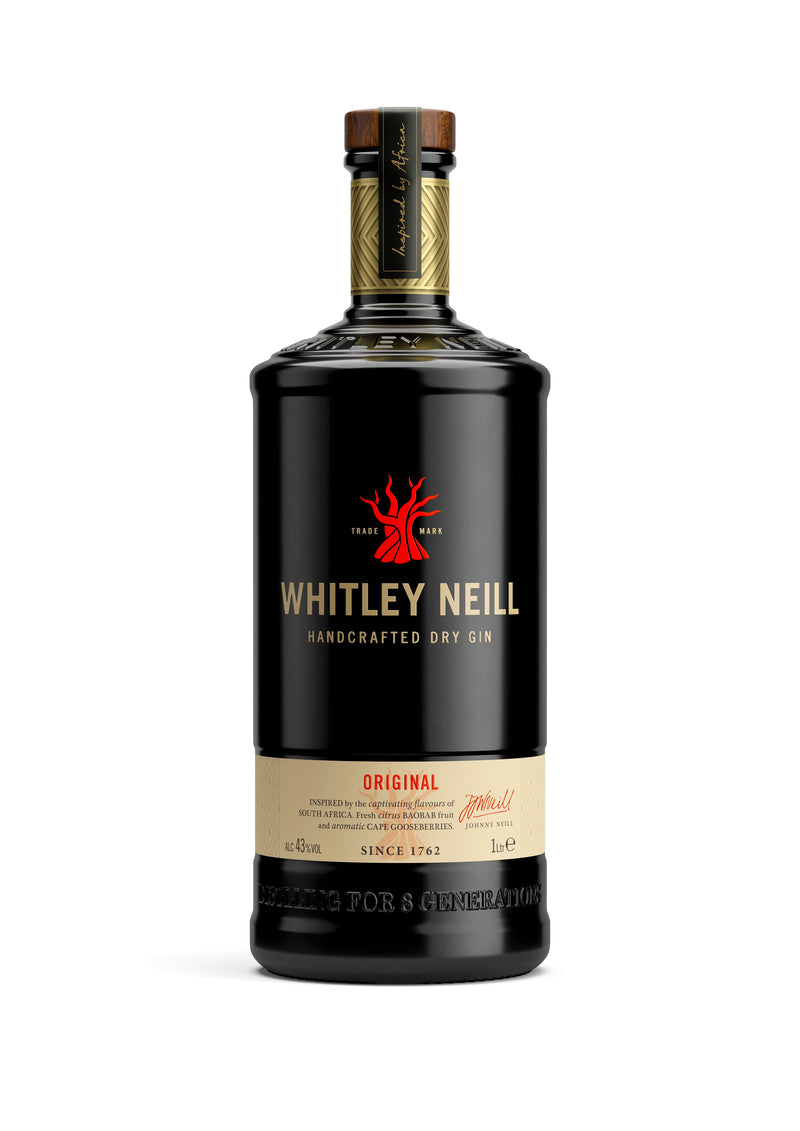 Whitley Neill Original Dry Gin 1 Litre - thedropstore.com