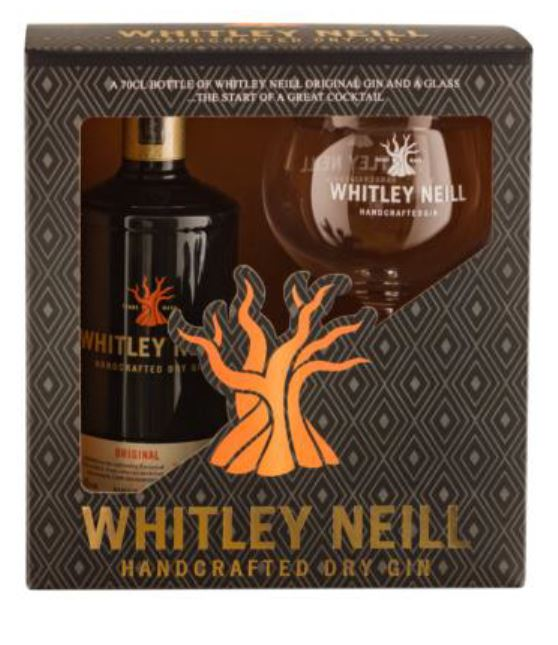 Whitley Neill Original Gin Gift Pack with Glass - thedropstore.com
