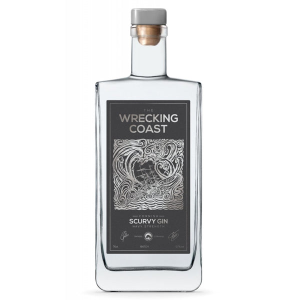 The Wrecking Coast Scurvy Gin Navy Strength - thedropstore.com