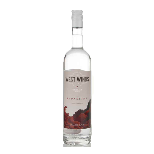 The West Winds Broadside Navy Strength Gin - thedropstore.com