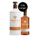Whitley Neill Blood Orange Gin Extra Large 1.75 Litre - thedropstore.com