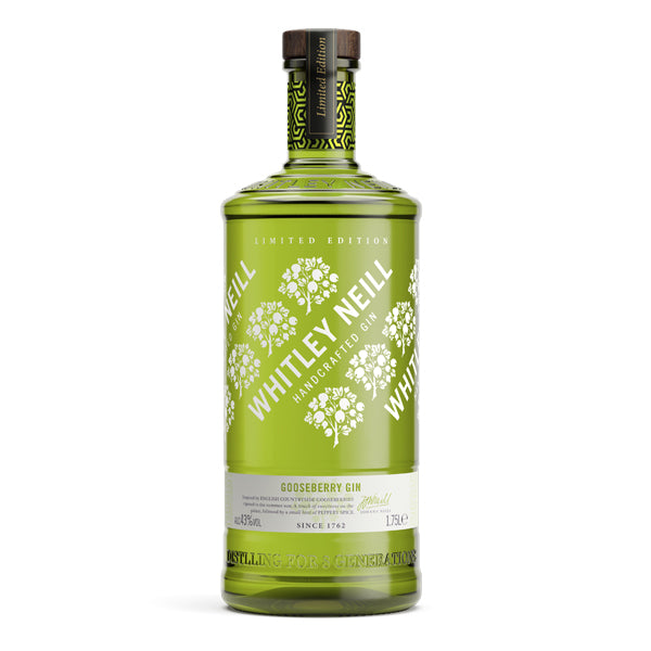 Whitley Neill Gooseberry Gin Extra Large 1.75 Litre - Chalié Richards & Co Ltd T/A The Drop Store