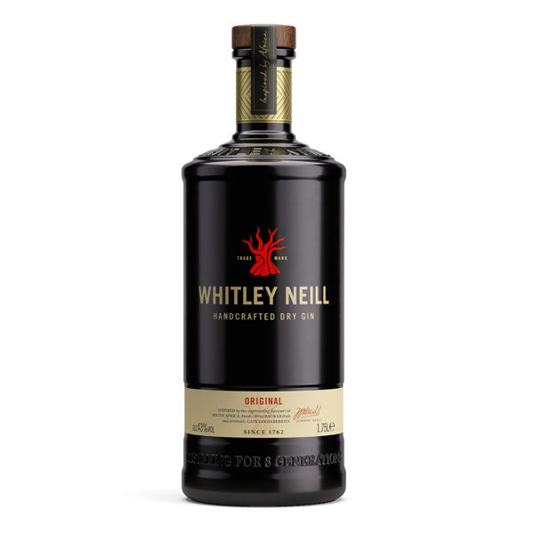 Whitley Neill Original Dry Gin Extra Large 1.75 Litre - Chalié Richards & Co Ltd T/A The Drop Store