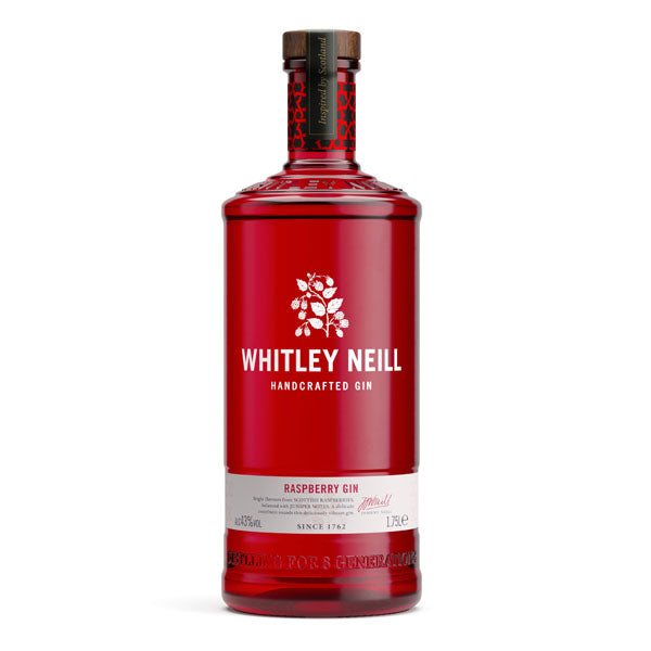 Whitley Neill Raspberry Gin Extra Large 1.75 Litre - Chalié Richards & Co Ltd T/A The Drop Store