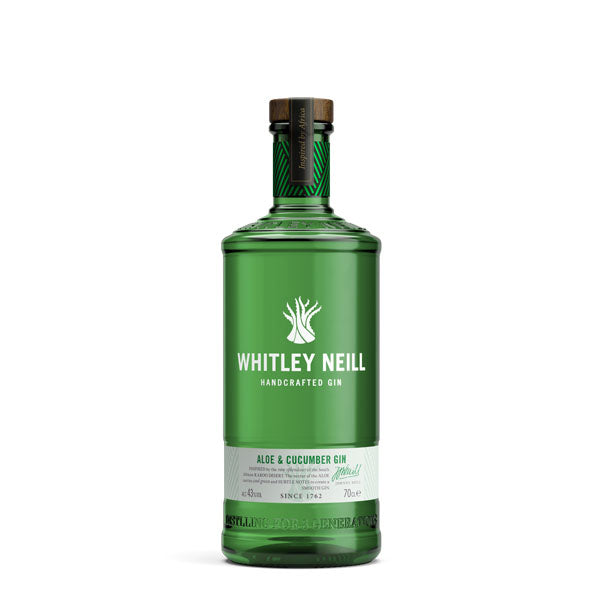 Whitley Neill Aloe & Cucumber Gin - Chalié Richards & Co Ltd T/A The Drop Store