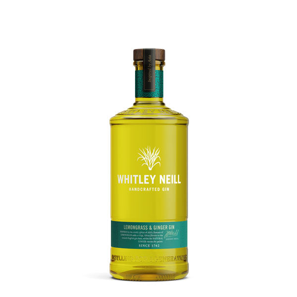 Whitley Neill Lemongrass & Ginger Gin - thedropstore.com