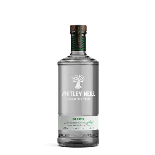 Whitley Neill Rye Vodka 43% 70cl