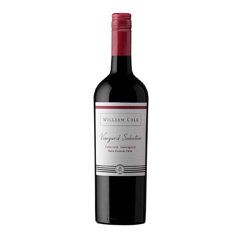 William Cole Vineyard Selection Cabernet Sauvignon, Central Valley, Chile 2017