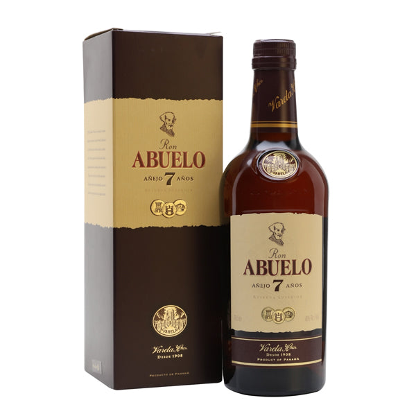 Ron Abuelo Rum 7yr old - thedropstore.com