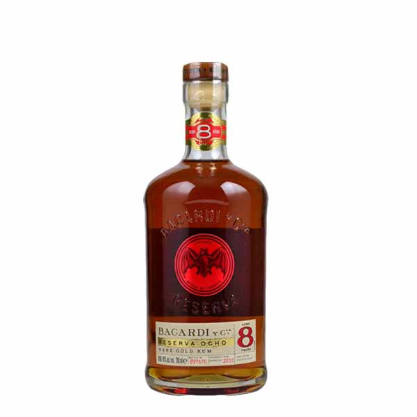 Bacardi 8 Year Old Rum - thedropstore.com