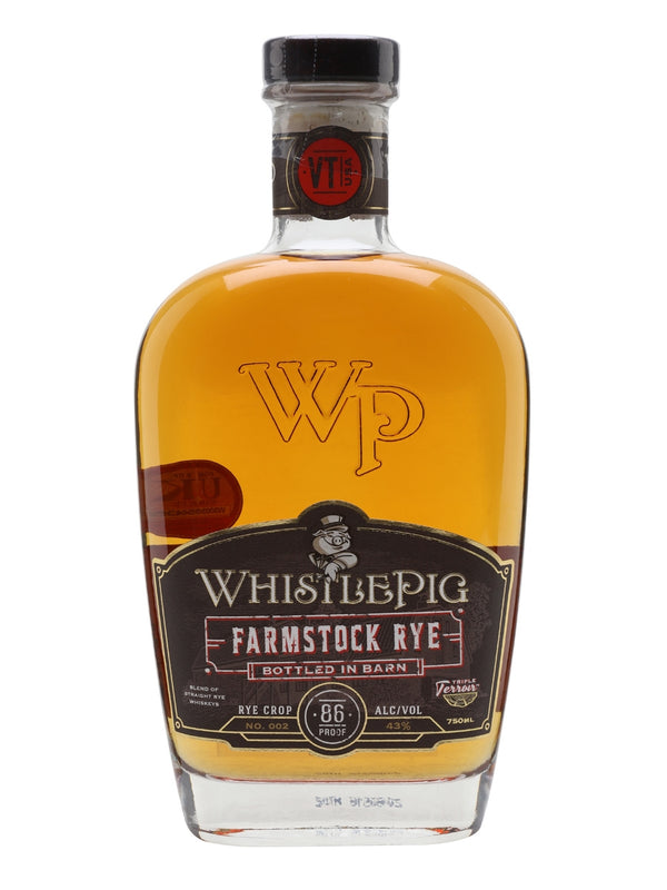 Whistlepig Farmstock Rye Lot 2 - thedropstore.com