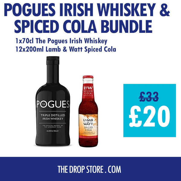 The Pogues Whiskey and Spiced Cola Bundle - thedropstore.com