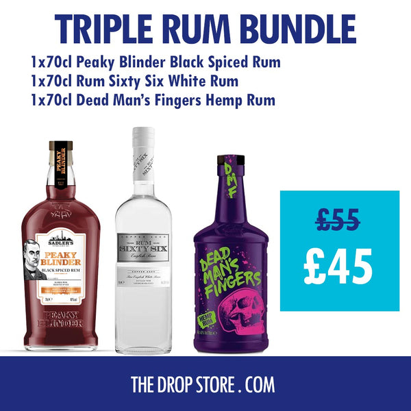 Triple Rum Bundle 3 for £45 - thedropstore.com