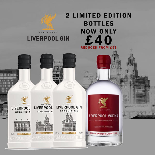Liverpool Distillery Limited Edition Spirits 2 for £40 Bundle