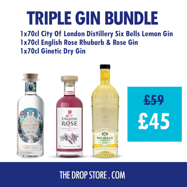 Gin Triple Bundle 3 for £45 - thedropstore.com