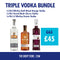 Triple Vodka Bundle 3 for £45 - thedropstore.com