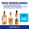 Triple Whiskies Bundle 3 for £45 - thedropstore.com
