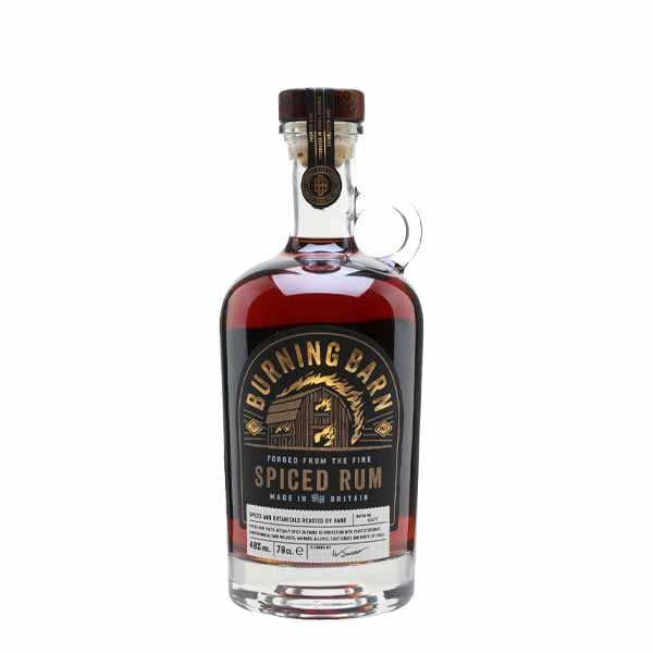 Burning Barn Spiced Rum - thedropstore.com
