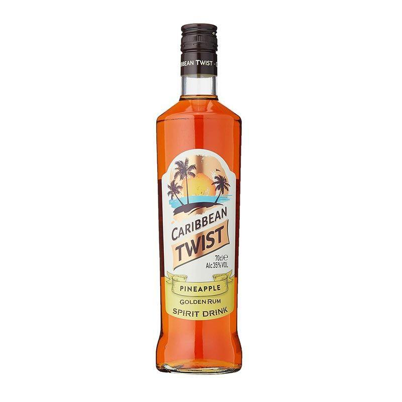 Caribbean Twist Pineapple Golden Rum - thedropstore.com