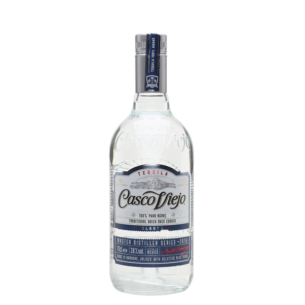 Tequila Casco 100% Agave Blanco 38.0% 70cl - thedropstore.com