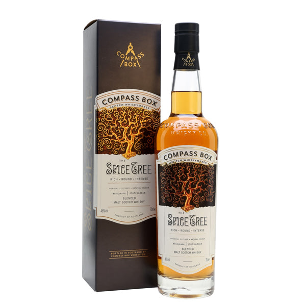 Compass Box Spice Tree Blended Malt Whisky - thedropstore.com