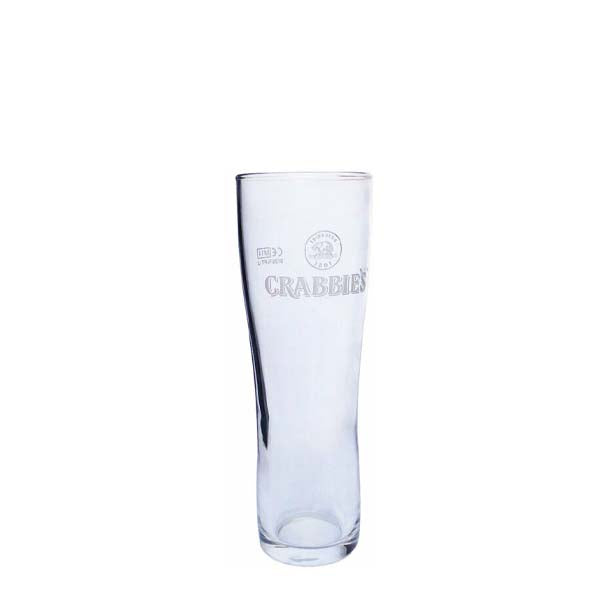Crabbie's Tall Glass 2/3rd Pint - 380ml