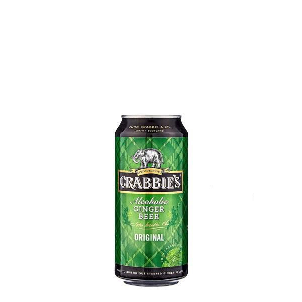 Crabbie's Ginger Beer 24 Can Case 440ml