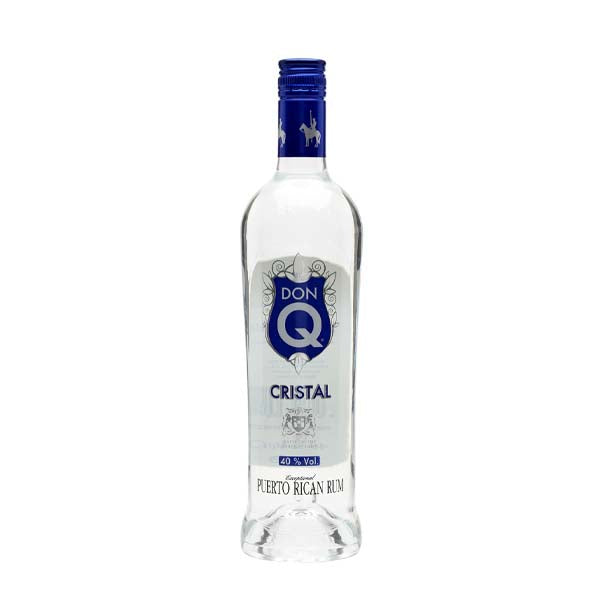 Don Q Cristal White Rum - thedropstore.com