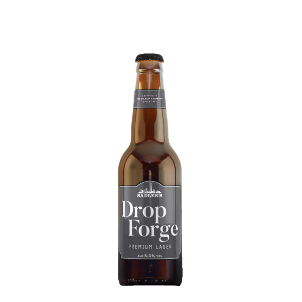 Sadler's Drop Forge Lager 12x330ml - thedropstore.com