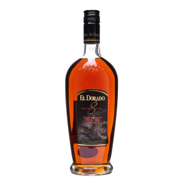 El Dorado Rum 8yr Old Demerara Rum - Chalié Richards & Co Ltd T/A The Drop Store